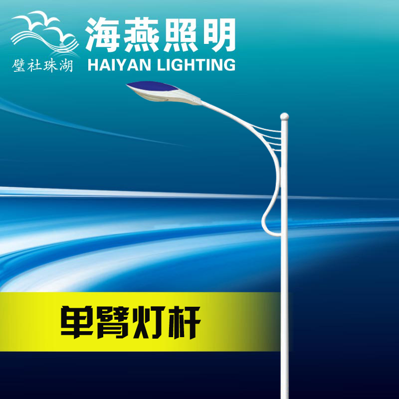 5 m single arm LED street light