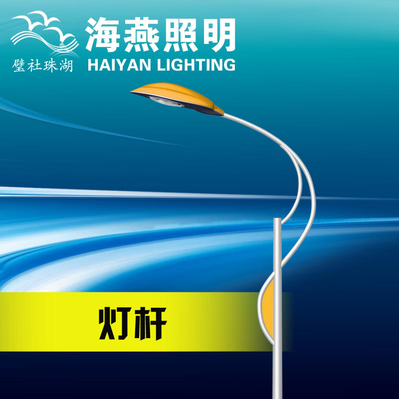 8 meters single arm LED street light